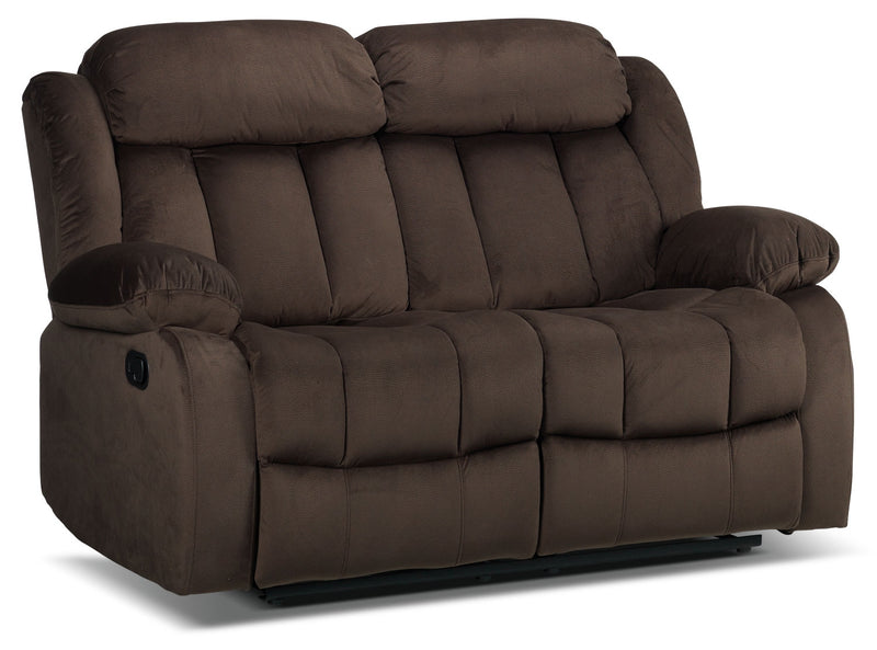 Alabama Reclining Loveseat - Deep Brown