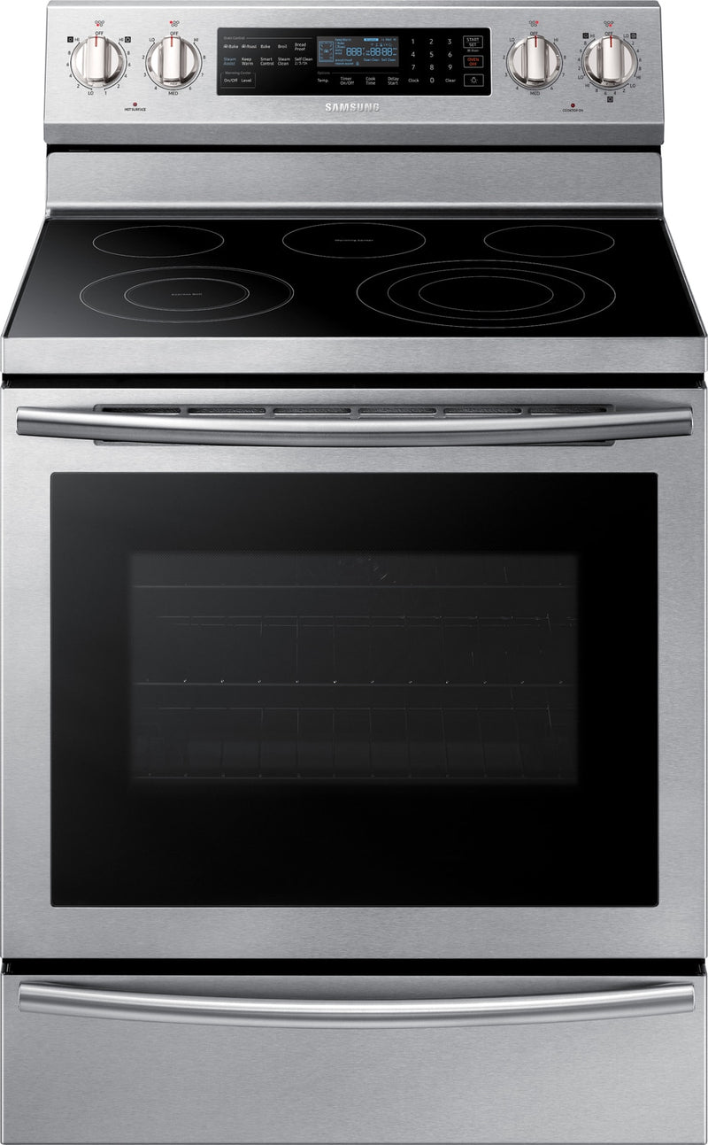Samsung Stainless Steel Freestanding Electric Convection Range (5.9 Cu. Ft.) - NE59N6650WS/AC