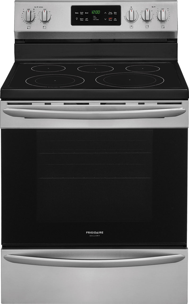 Frigidaire Gallery Stainless Steel Freestanding Electric Range (5.4 Cu. Ft.) - CGEF3037TF