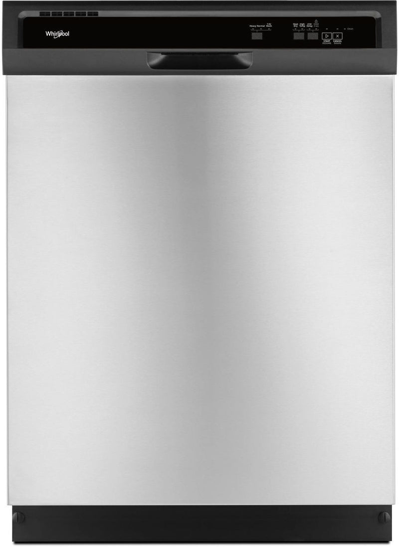 "Whirlpool Stainless Steel 24"" Dishwasher - WDF330PAHS"