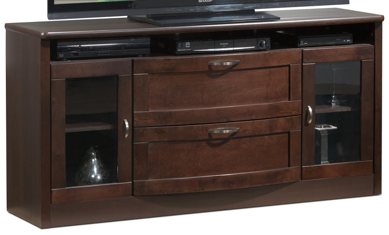 Huxley TV Credenza - Java Maple