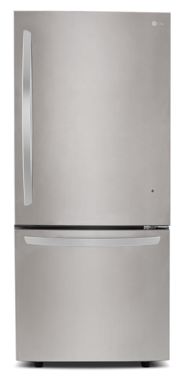 LG Appliances Stainless Steel Bottom-Freezer Refrigerator (22.1 Cu. Ft.) - LDNS22220S