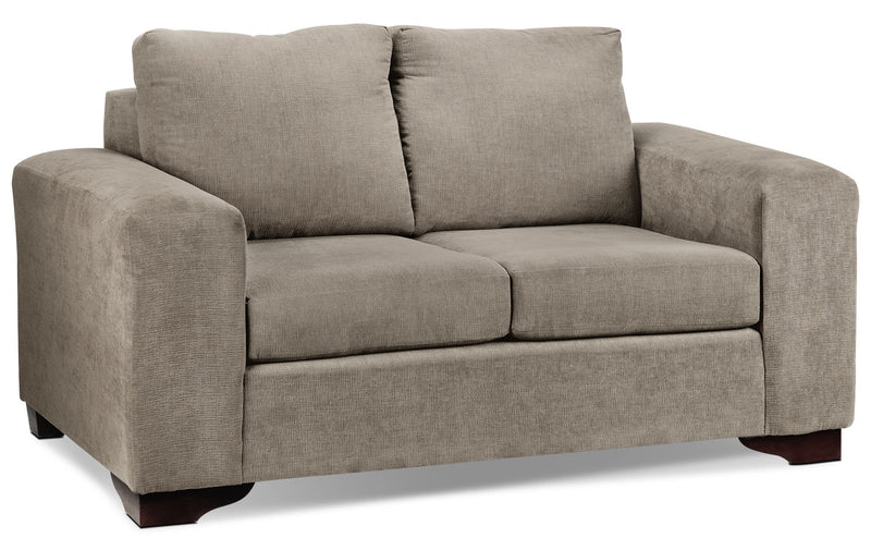 Fava Loveseat - Pewter