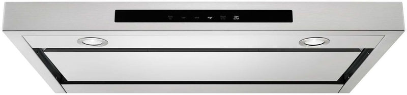 "KitchenAid Stainless Steel 36"" 400 CFM Under-the-Cabinet Range Hood - KVUB406GSS"