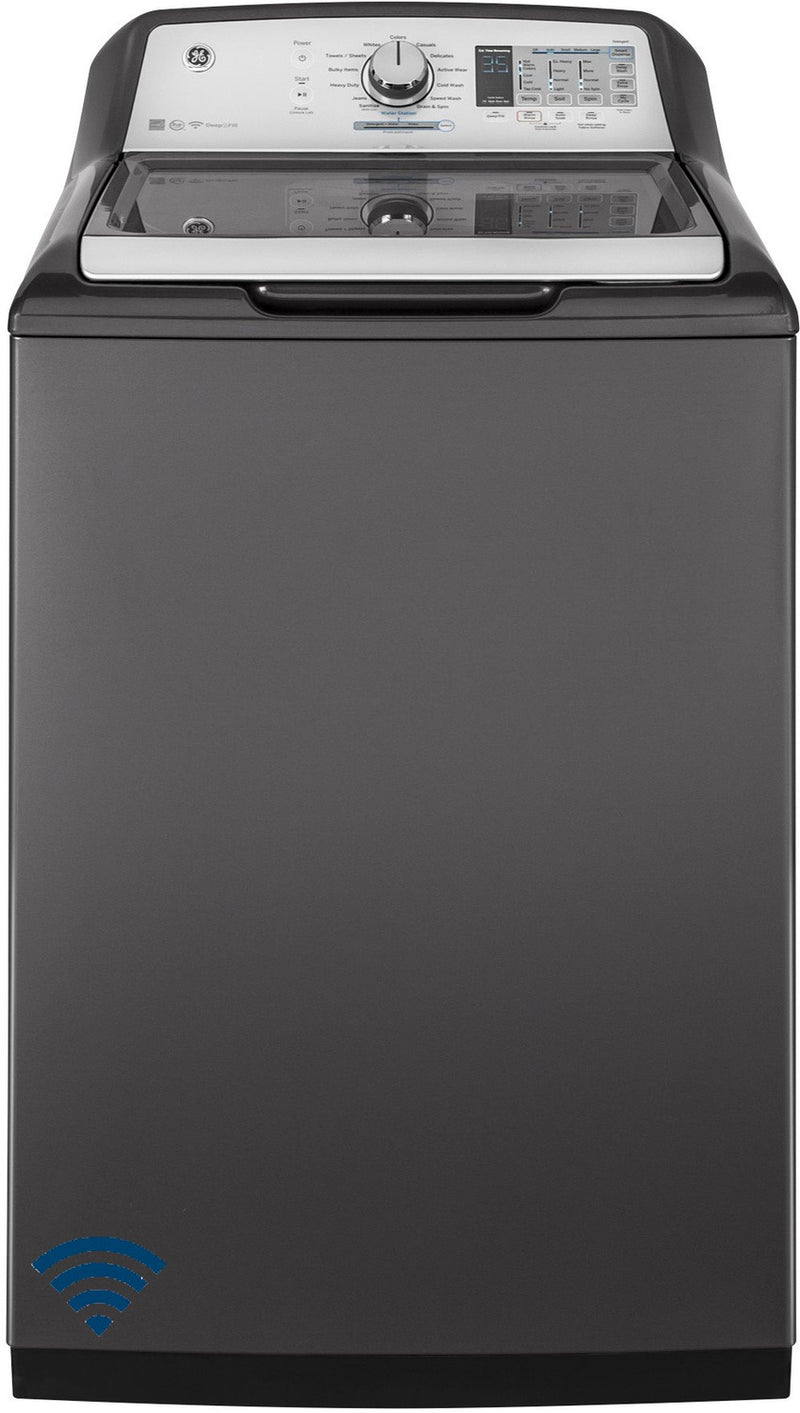 GE Diamond Grey Top-Load Washer (5.8 Cu. Ft.) - GTW750CPLDG