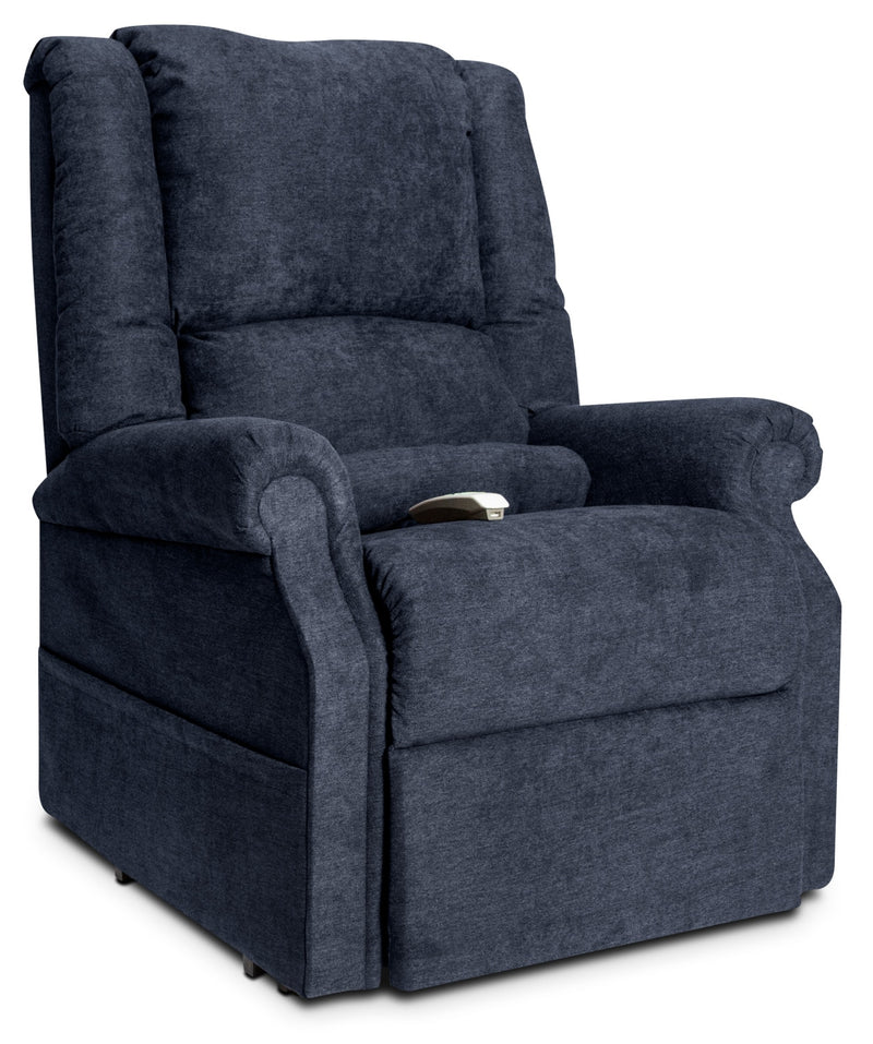 Quinn Power Lift Recliner - Navy