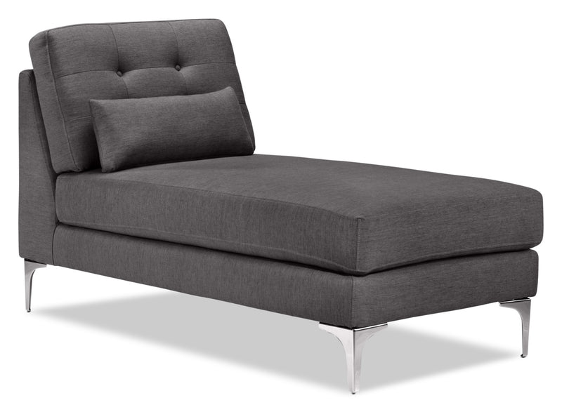 Ainsley Chaise - Grey