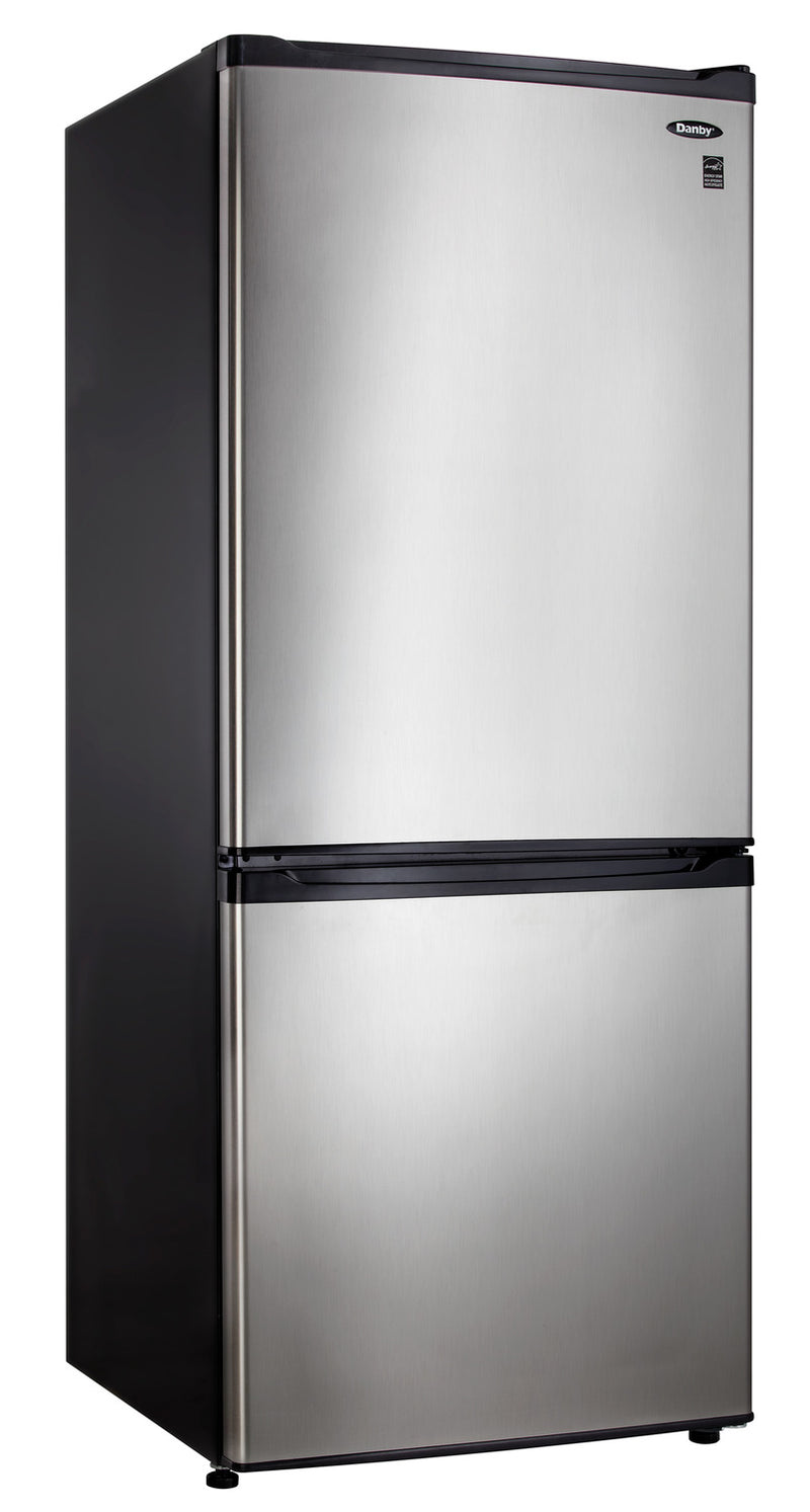 Danby Stainless Steel Bottom-Mount Refrigerator (9.2 Cu. Ft.) - DFF092C1BSLDB