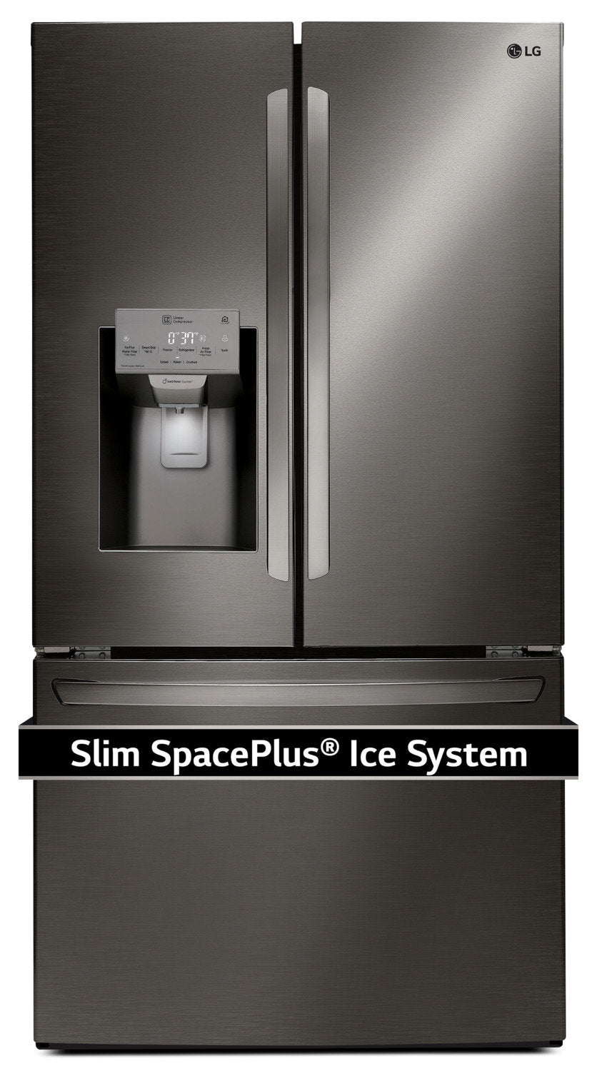 Lg Appliances Black Stainless Steel French Door Refrigerator 27 9