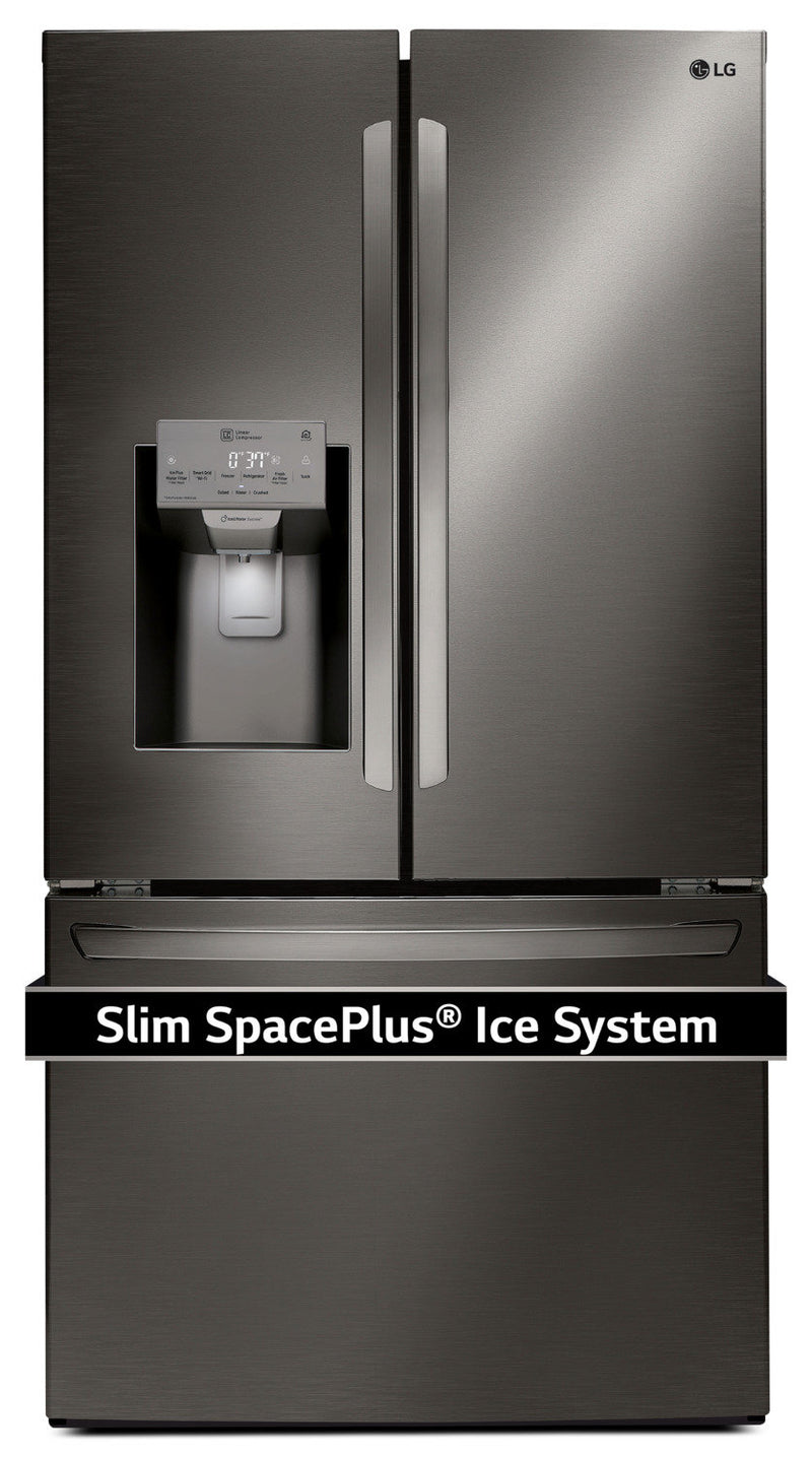 LG Appliances Black Stainless Steel French Door Refrigerator (27.9 Cu. Ft.) - LFXS28968D