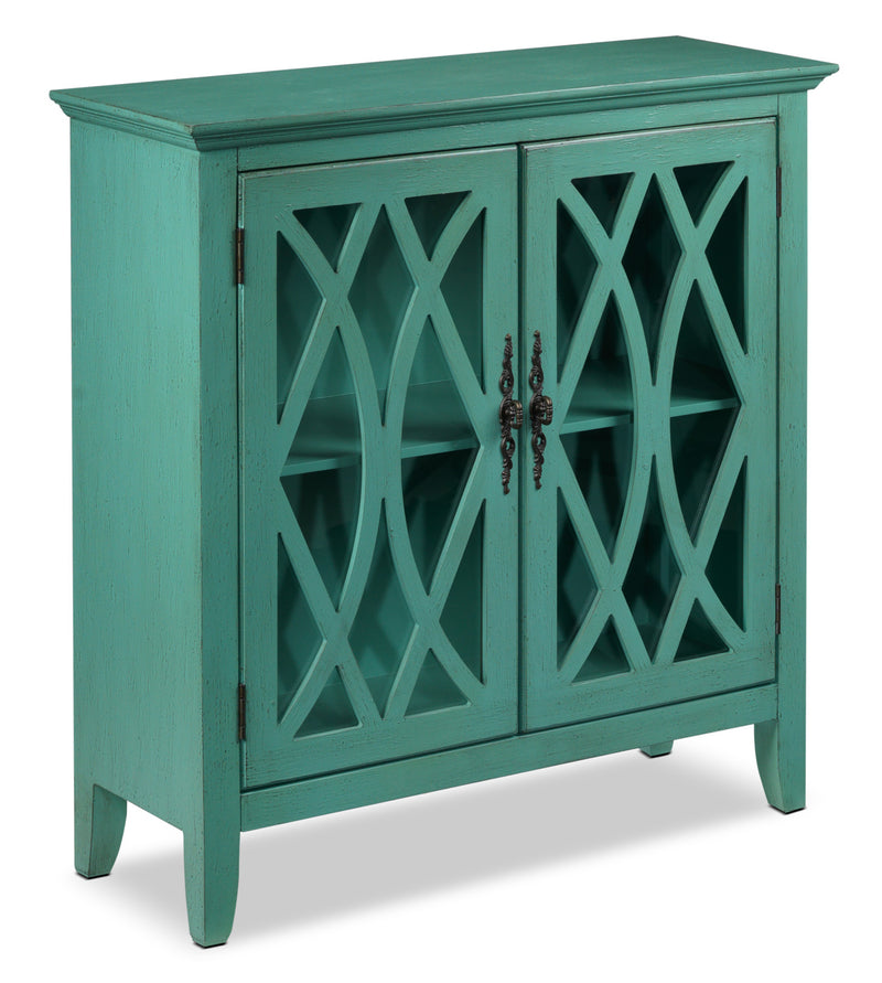 Glennon Accent Cabinet - Teal