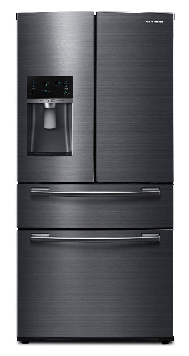 Samsung Black Stainless Steel French Door Refrigerator (24.7 Cu. Ft.) - RF25HMEDBSG/AA