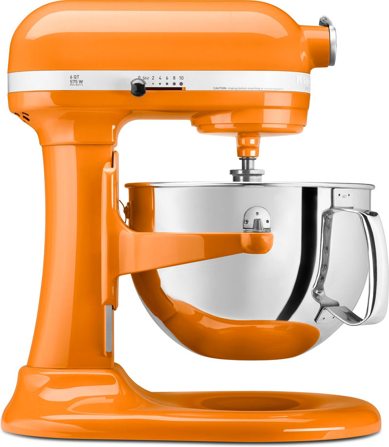 KitchenAid Tangerine 6-Quart Bowl-Lift Stand Mixer - KP26M1XTG