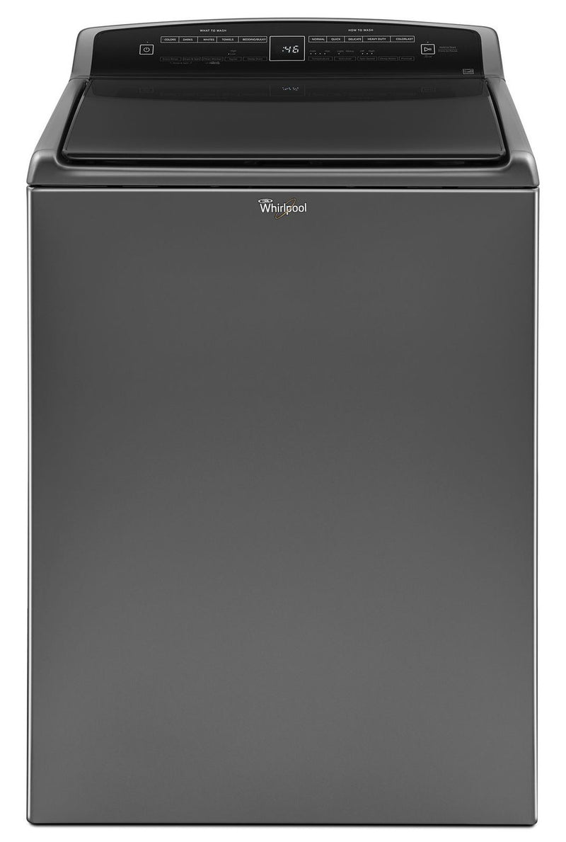 Whirlpool Chrome Shadow Top-Load Washer (5.5 Cu. Ft. IEC) - WTW7500GC