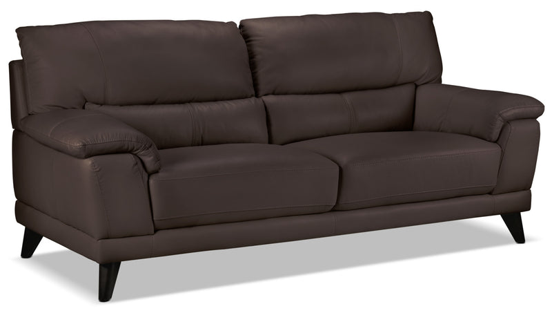 Braylon Sofa - Dark Chocolate