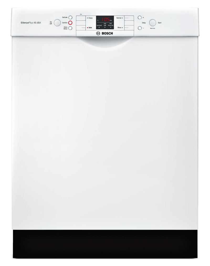 "Bosch White 24"" Dishwasher - SGE53U52UC"