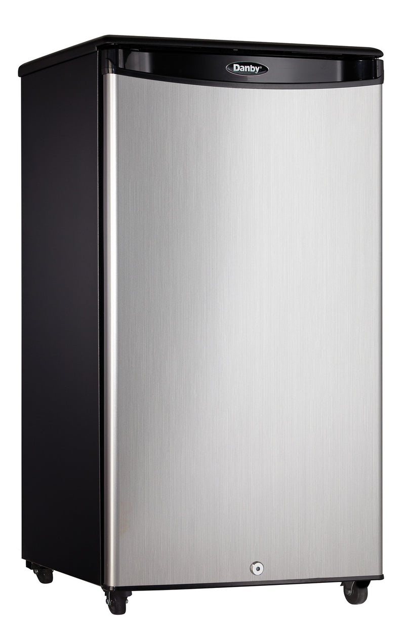 Danby Stainless Steel Outdoor Compact Refrigerator (3.3 Cu. Ft.) - DAR033A1BSLDBO