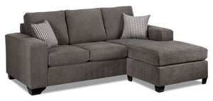 Fava Chaise Sofa - Grey