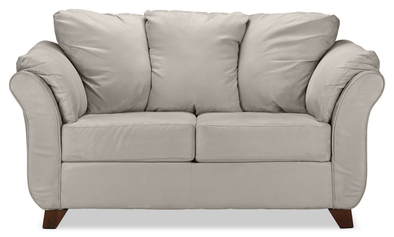 Collier Loveseat - Light Grey