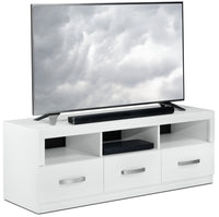 "Warner 60"" TV Stand - White"
