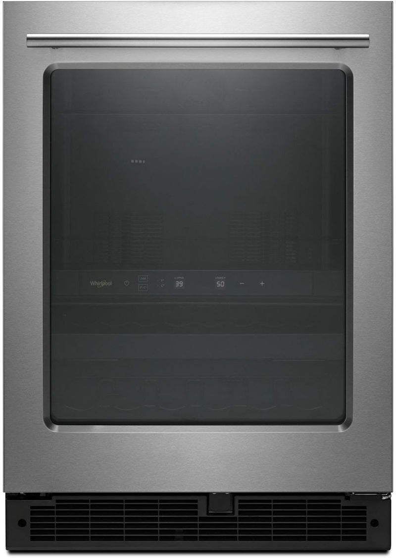 Image of Whirlpool Stainless Steel Undercounter Beverage Centre (5.2 Cu. Ft.) - WUB35X24HZ
