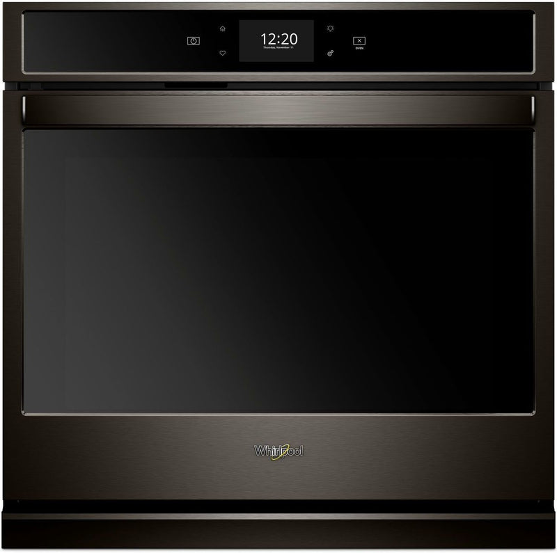 Whirlpool Black Stainless Steel Electric True Convection Wall Oven (4.3 Cu. Ft.) - WOS72EC7HV