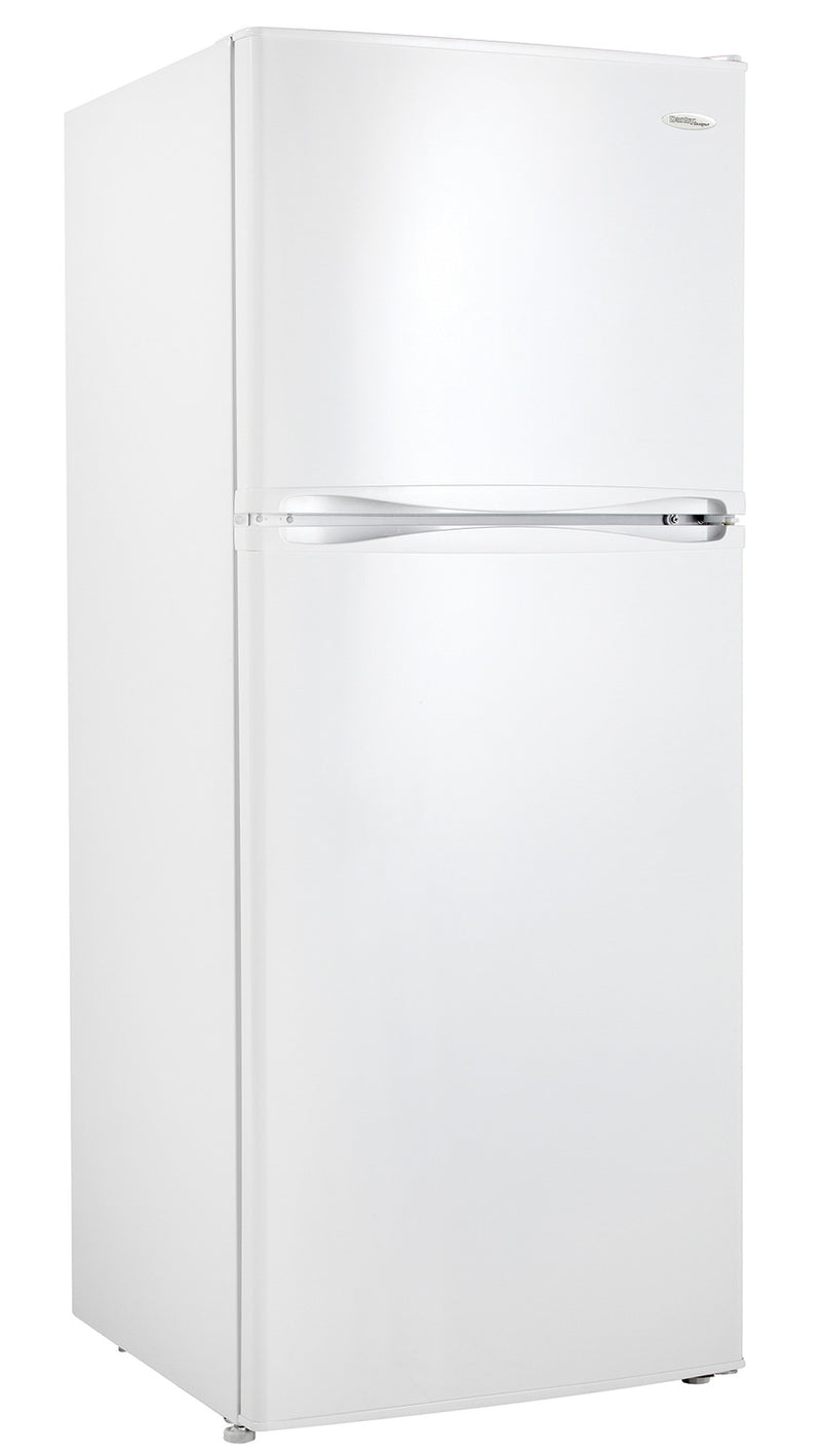 Danby White Top-Freezer Refrigerator (10 Cu. Ft.) - DFF100C2WDD