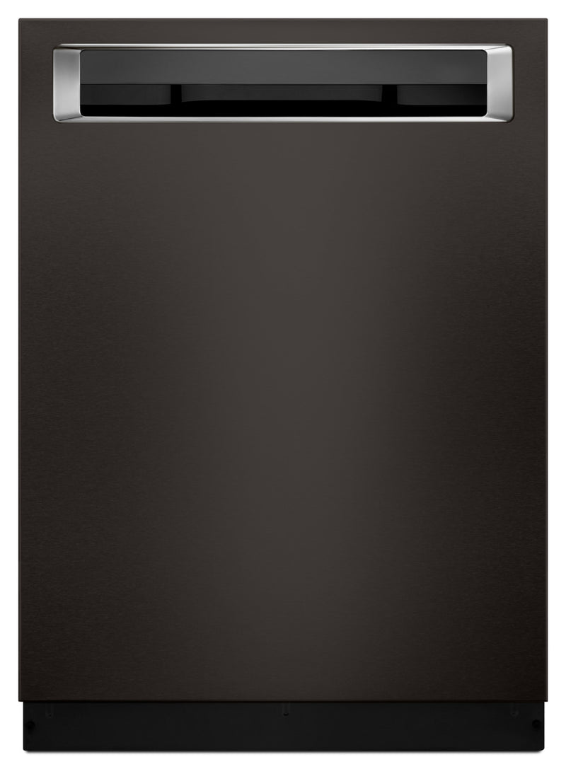 "KitchenAid Black Stainless Steel 24"" Dishwasher - KDPE234GBS"