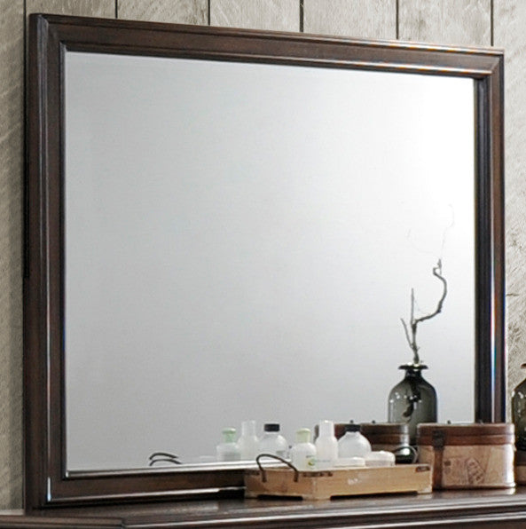 Leavitt Mirror - Brown Cherry