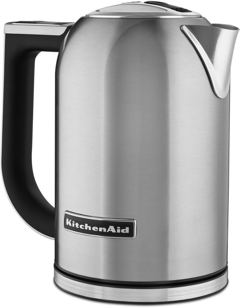 KitchenAid Brushed Stainless Steel Electric Kettle (1.7 L) - KEK1722SX