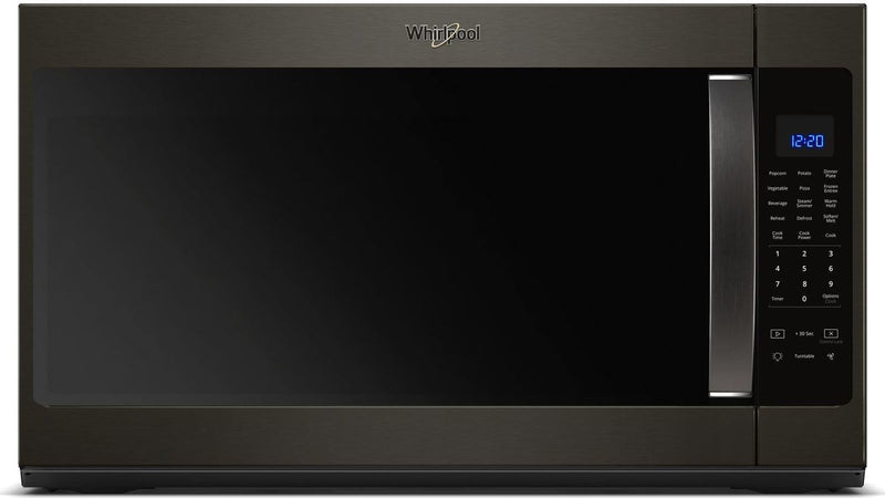Whirlpool Black Stainless Steel Over-the-Range Microwave (2.1 Cu. Ft.) - YWMH53521HV