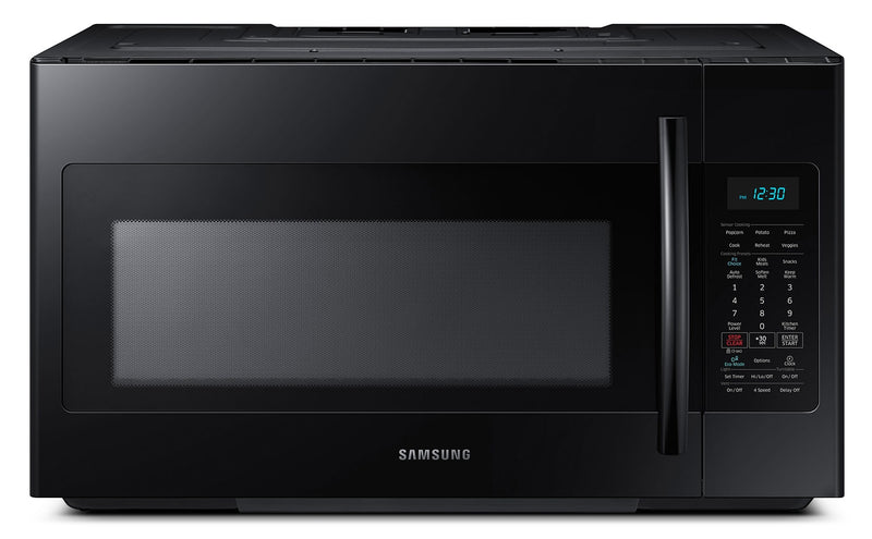 Samsung Black Over-the-Range Microwave (1.8 Cu. Ft.) - ME18H704SFB