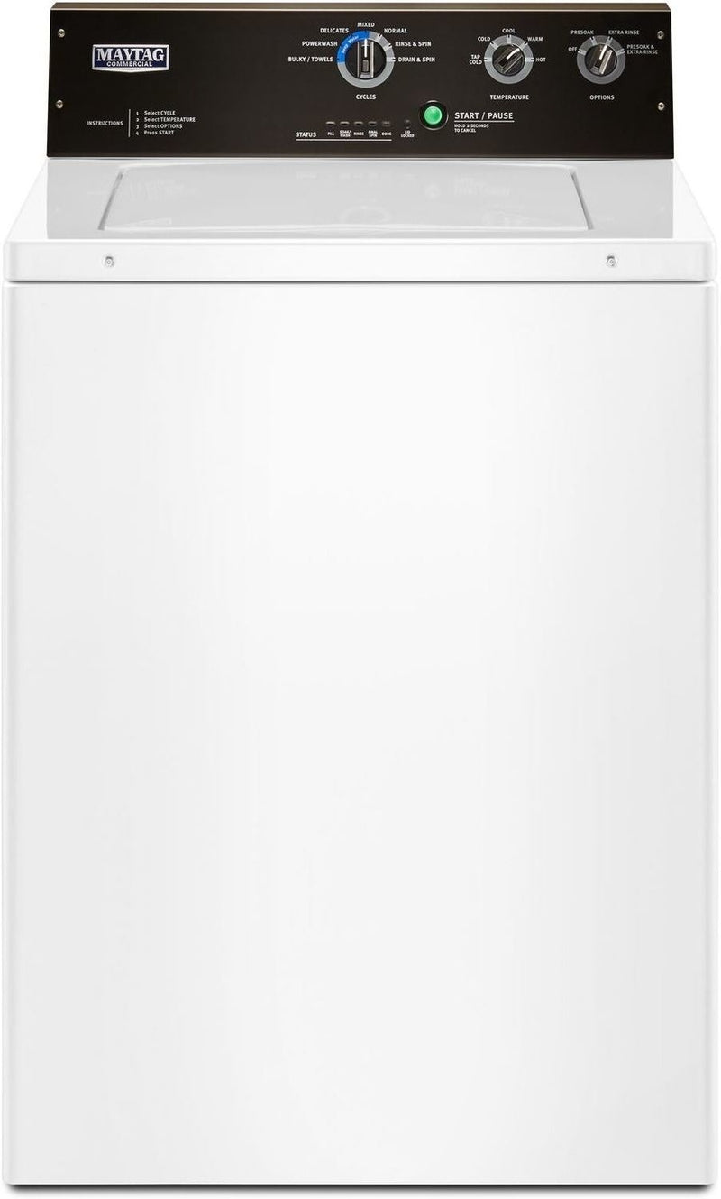 Maytag White Top-Load Washer (4.0 Cu. Ft. IEC) - MVWP575GW