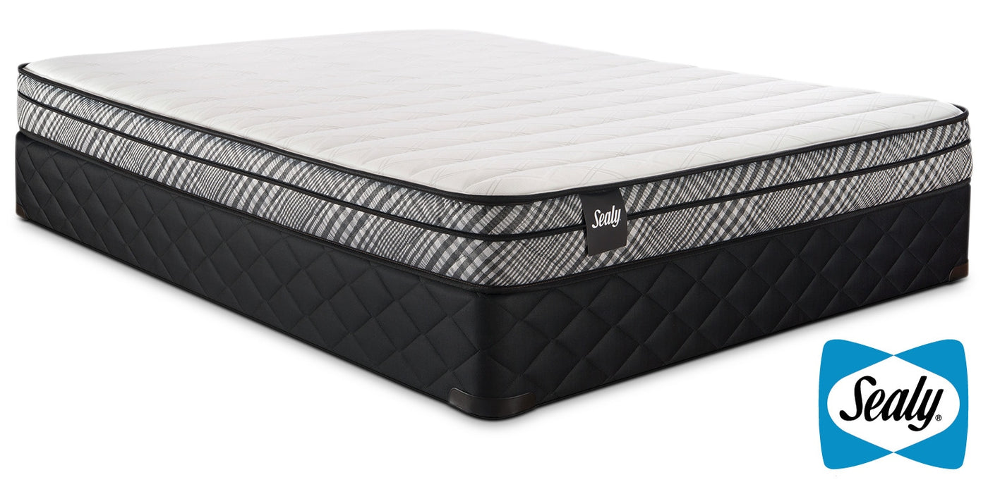 Sealy Imagine Ii Firm Twin Mattress And Boxspring Set Leons