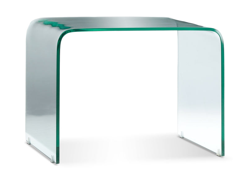 Flow End Table - Glass