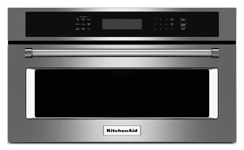 KitchenAid Stainless Steel Built-In Microwave (1.4 Cu. Ft.) - KMBP107ESS