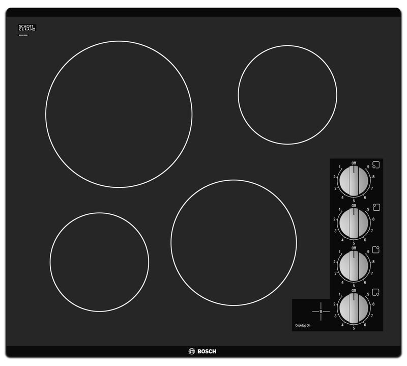 Bosch Black Electric Cooktop - NEM5466UC