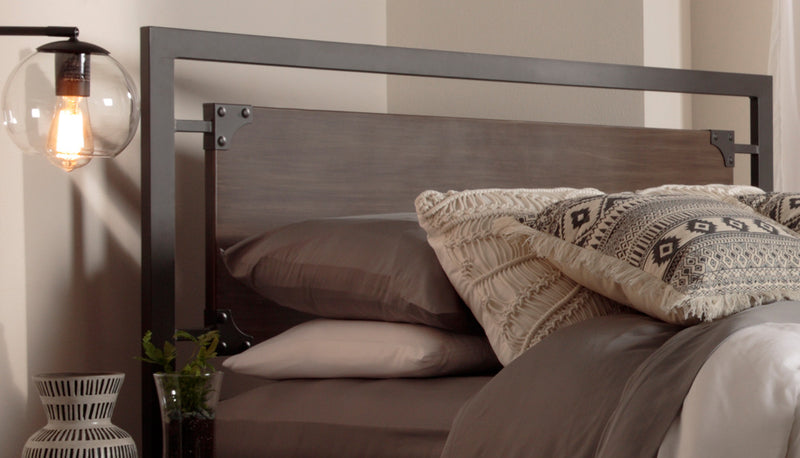 Citybed Queen Headboard - Barn Grey