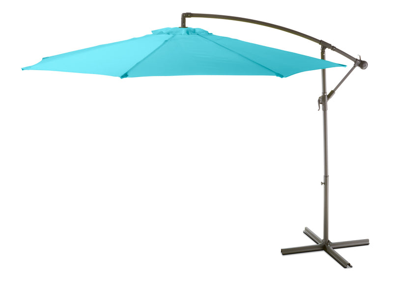 Maris Offset Umbrella - Turquoise Blue