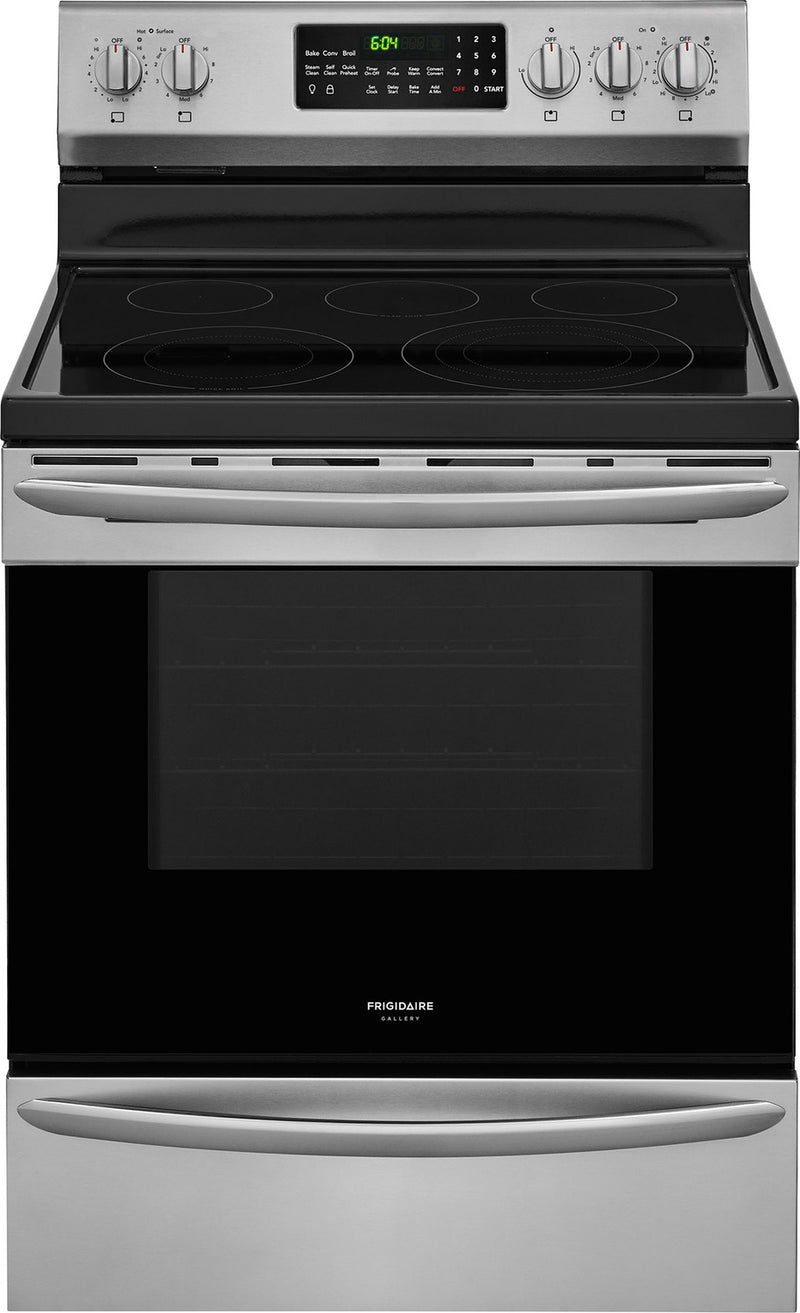 Frigidaire Gallery Stainless Steel Freestanding Electric Convection Range (5.7 Cu. Ft.) - CGEF3059TF
