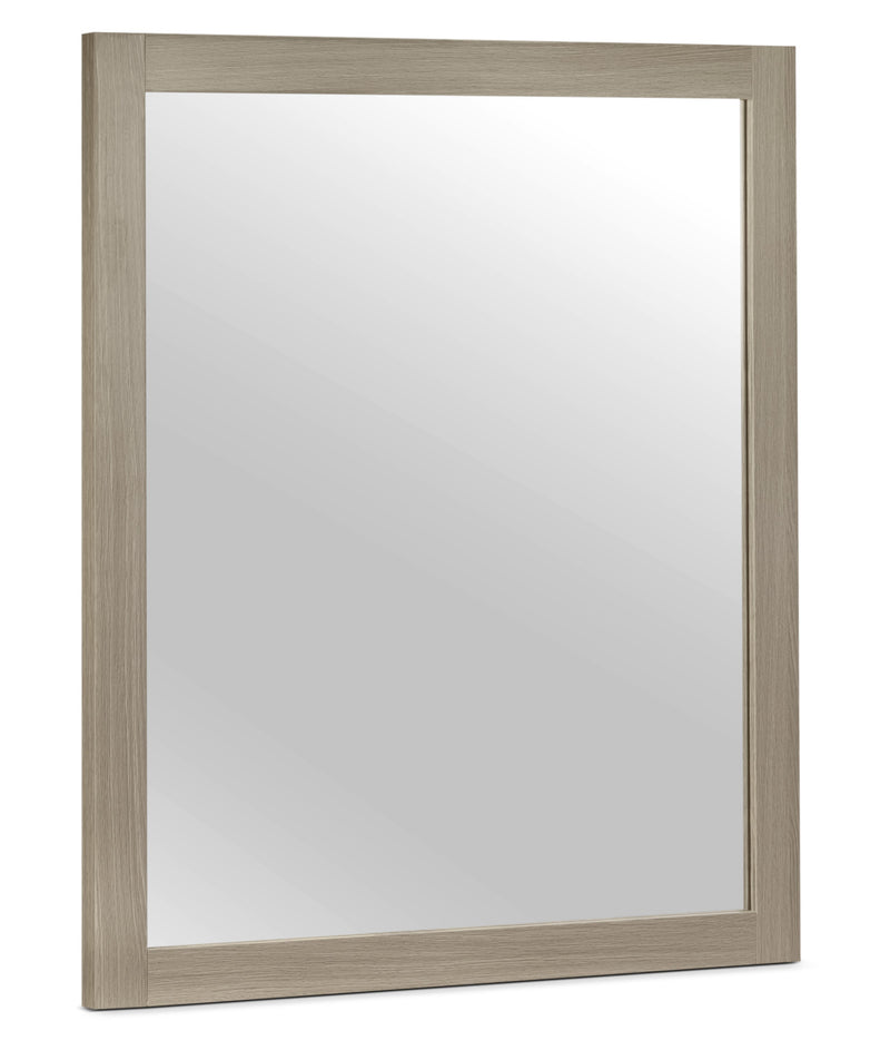 Bay Hill Mirror - Grey