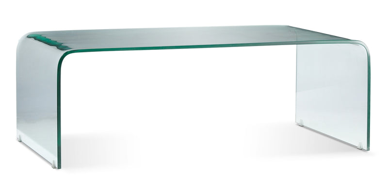 Flow Coffee Table And Two End Tables Glass
