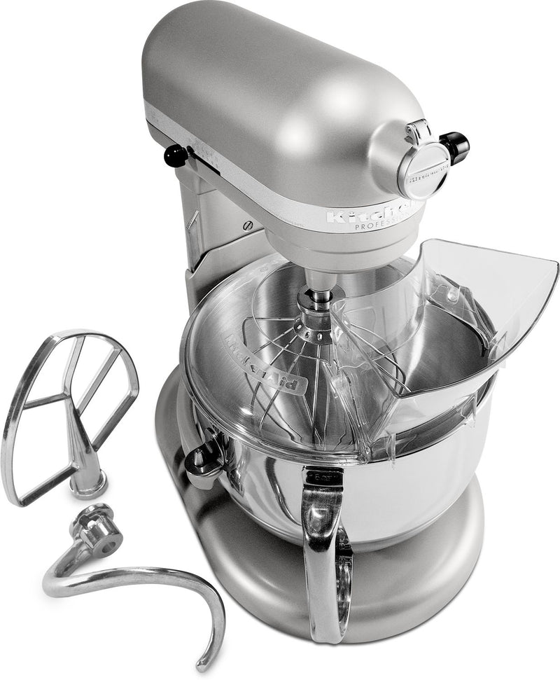 KitchenAid Nickel Pearl 6-Quart Bowl-Lift Stand Mixer - 4KP26M1XNP
