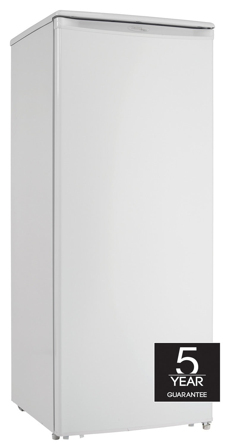 Danby White Upright Freezer (8.5 Cu. Ft.) - DUFM085A4WDD