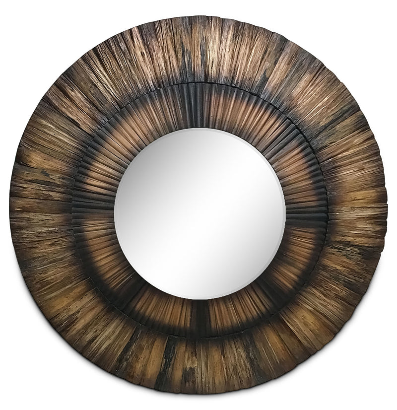 Sparrow Mirror - Wood