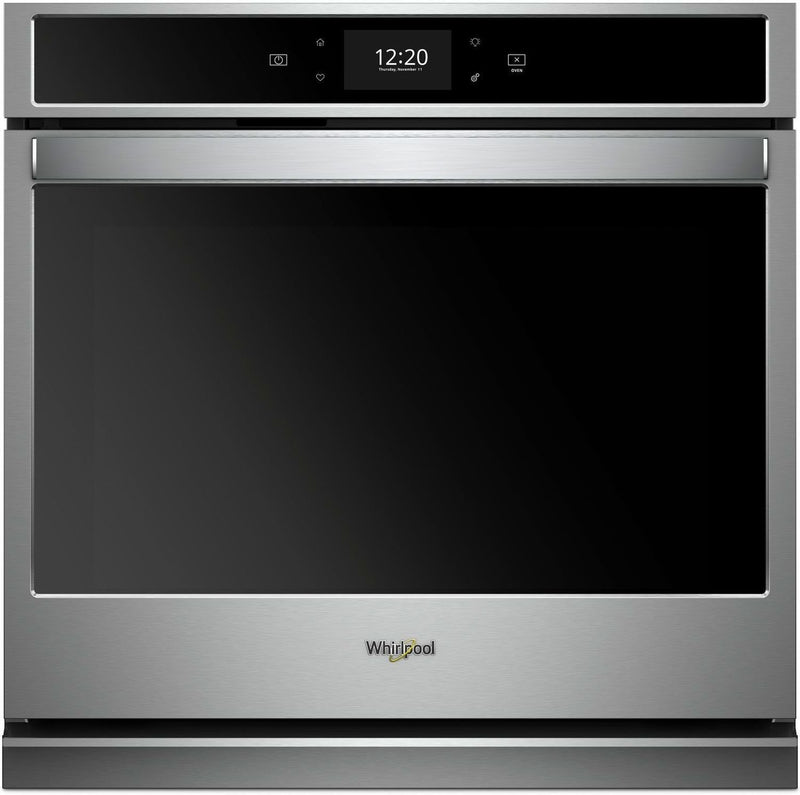 Whirlpool Stainless Steel Electric True Convection Wall Oven (5.0 Cu. Ft.) - WOS97EC0HZ