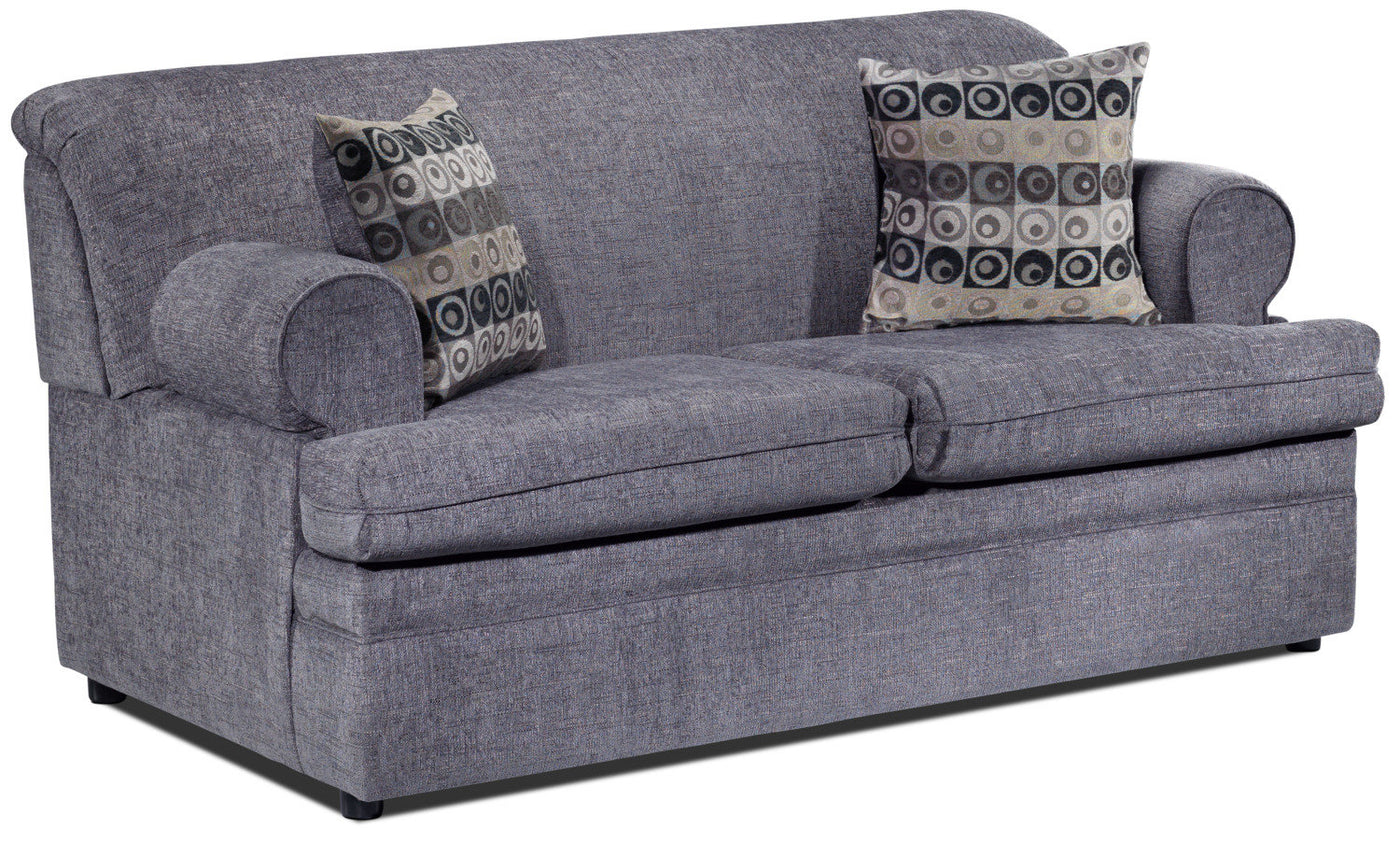 Nichols Full Sofa Bed Grey Leons