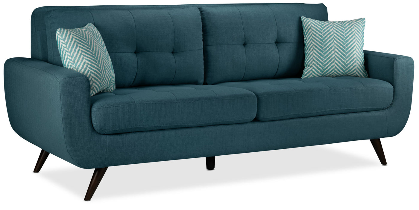 Terrific Julian Sofa Blue Gmtry Best Dining Table And Chair Ideas Images Gmtryco