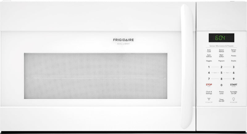 Frigidaire Gallery White Over-The-Range Microwave (1.7 Cu. Ft.) - CGMV176NTW