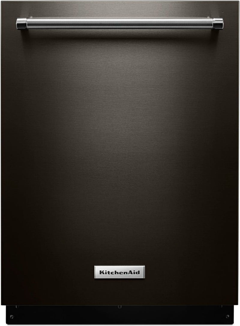 "KitchenAid Black Stainless Steel 24"" Dishwasher - KDTE234GBS"